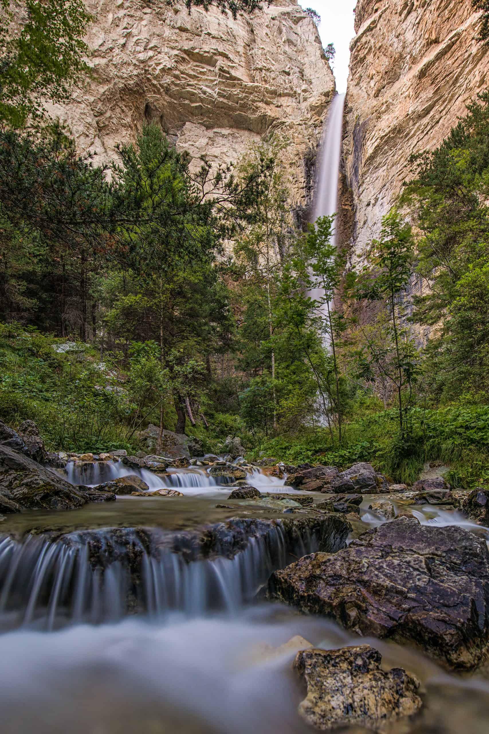 cascade saint benoit avrieux savoie