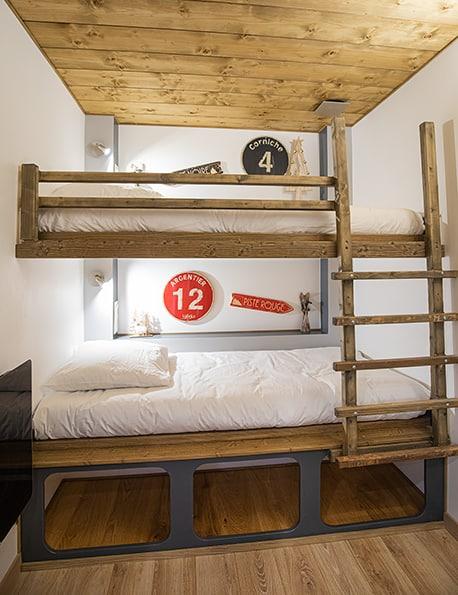 chambre lits simples gîte avrieux location gîte avrieux savoie