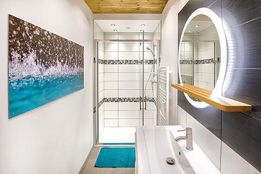 salle de bains gîte avrieux gîte savoie